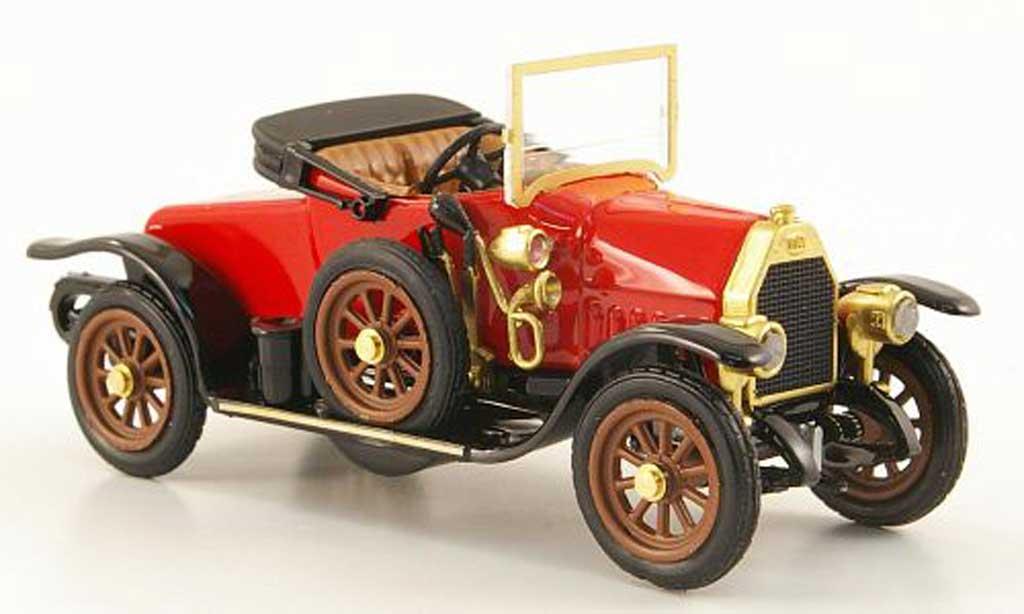 Fiat O 1912 1/43 Rio Spider rouge miniature