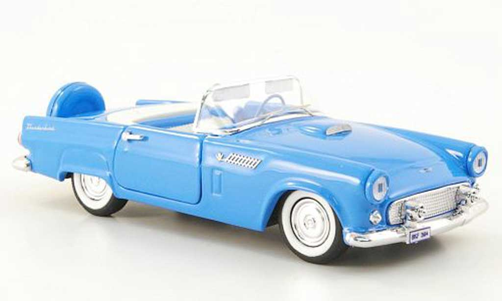Ford Thunderbird 1956 1/43 Rio Spider bleu miniature