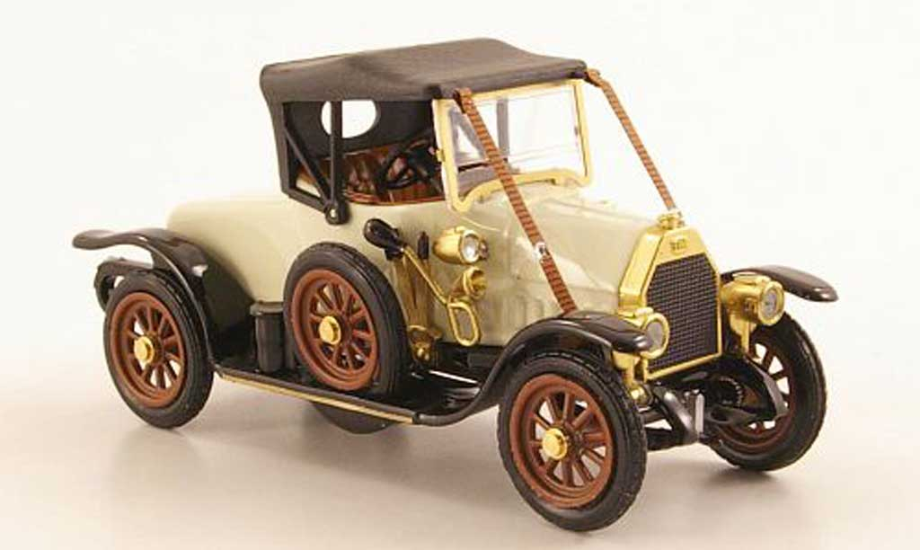 Fiat O 1912 weiss/schwarz geschlossen Rio. Fiat O 1912 weiss/schwarz geschlossen modellauto 1/43