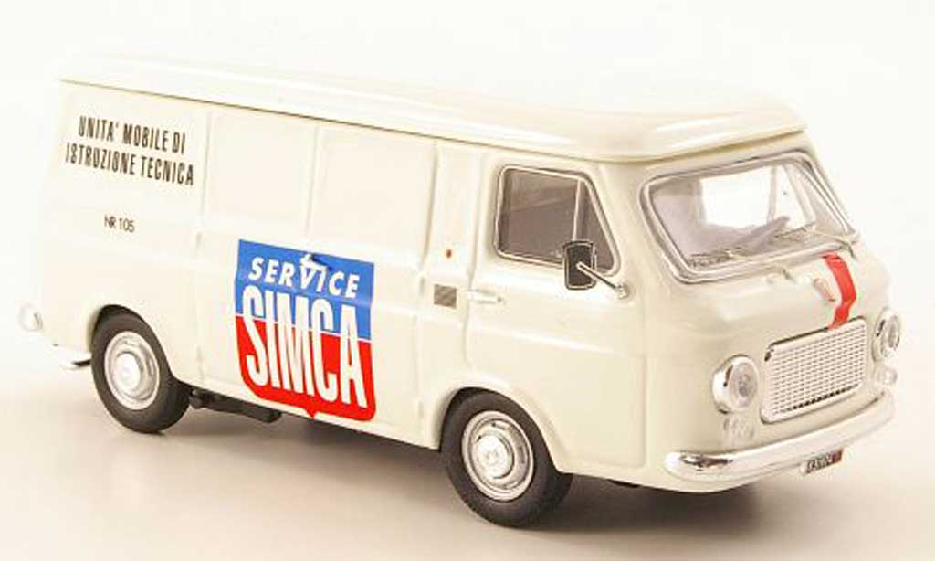 Fiat 238 1/43 Rio Kasten Simca Service 1970 diecast model cars