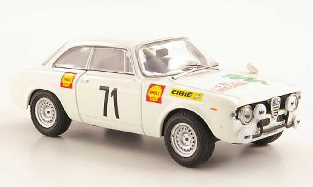 Alfa Romeo Giulia 1600 GTA 1/43 M4 No.71 Tour de Corse 1969 miniature