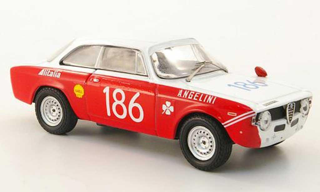 Alfa Romeo Giulia 1600 GTA 1/43 M4 No.186 Targa Florio 1970 miniature