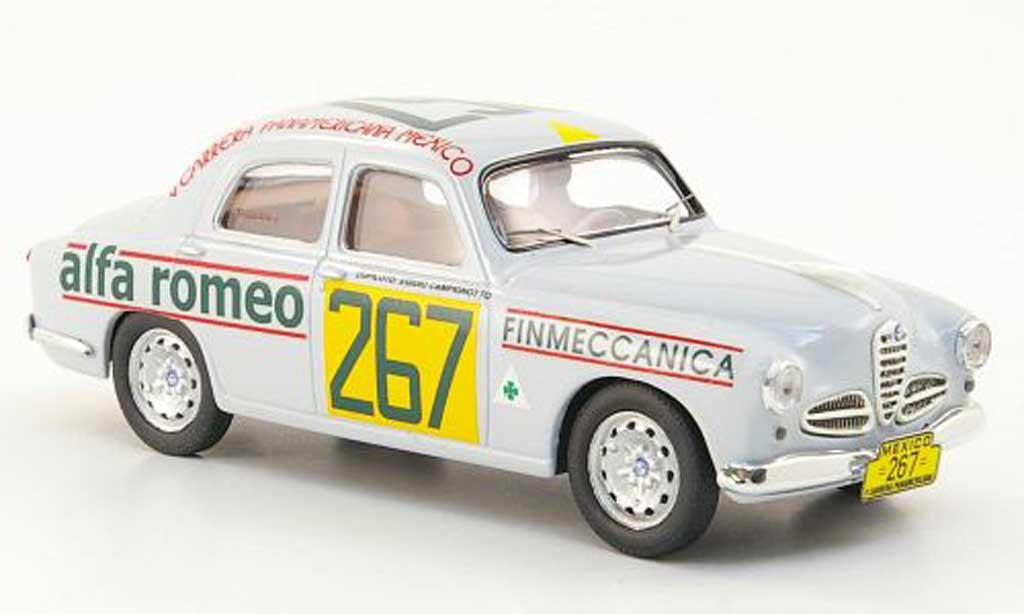 Alfa Romeo 1900 1/43 M4 No.267 Carrera Panamericana Mexico 1954 miniature