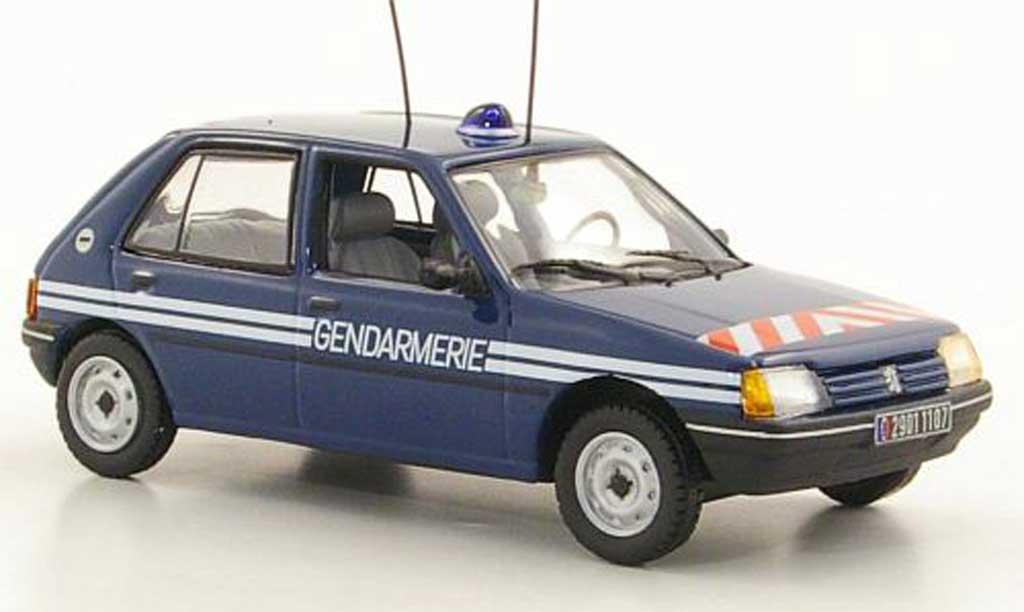 Peugeot 205 1/43 Norev Gendarmerie 5-portes 1988 miniature