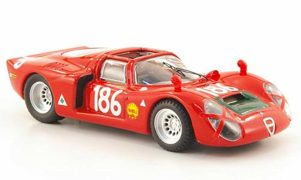 Alfa Romeo 33.2 1968 1/43 Best Spyder No.186 Giunti/Galli Targa Florio miniature