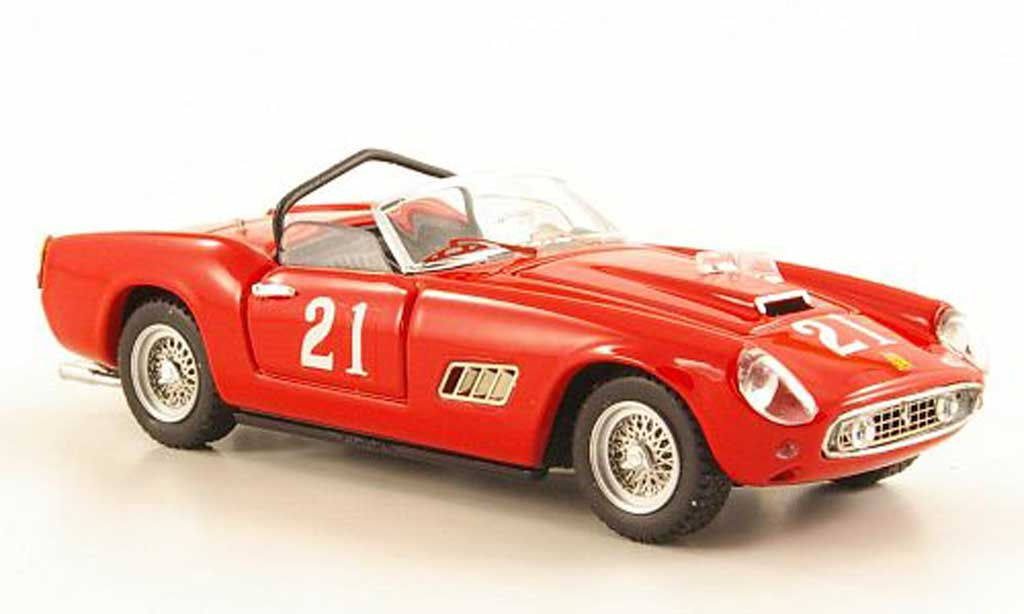 Ferrari 250 GT California 1/43 Art Model No.21 W.von Trips Nassau 1960 diecast model cars