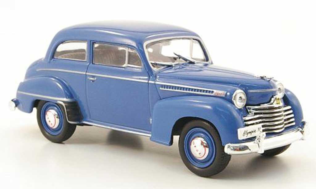 opel olympia blau ohne magazin 1951 mcw modellauto 1 43 kaufen verkauf modellauto online. Black Bedroom Furniture Sets. Home Design Ideas
