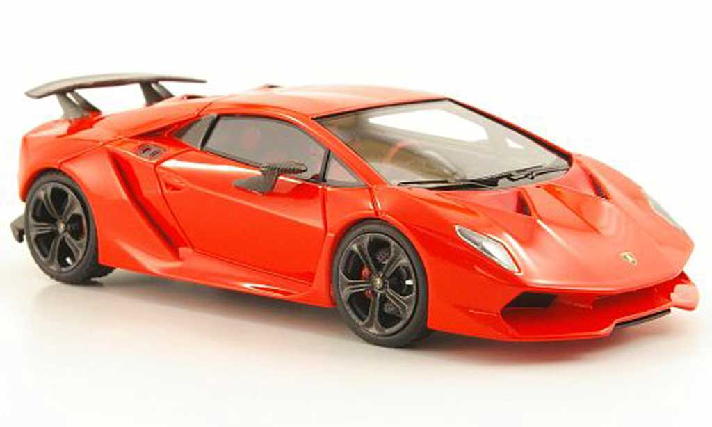 Lamborghini Sesto Elemento 1/43 Look Smart orange Paris Motor Show 2010 miniature