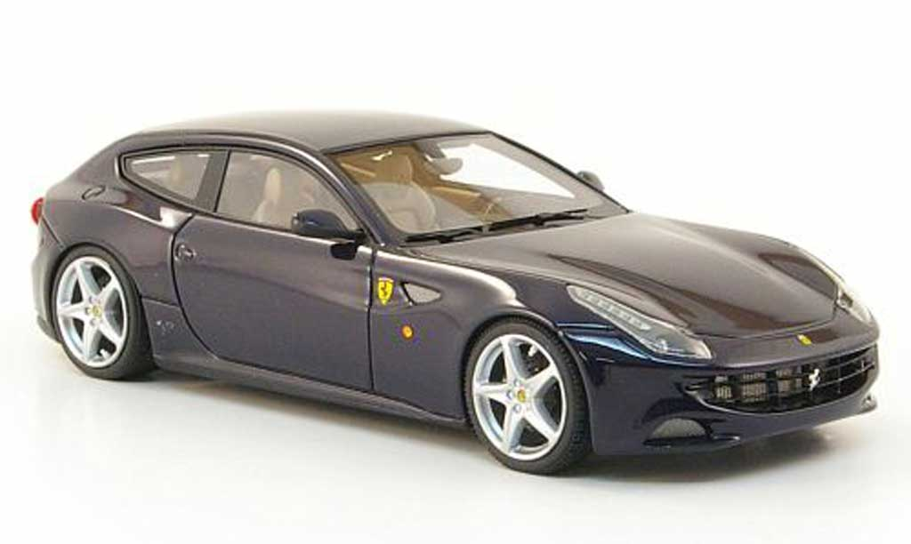 Ferrari FF 1/43 Look Smart bleu 2011 miniature