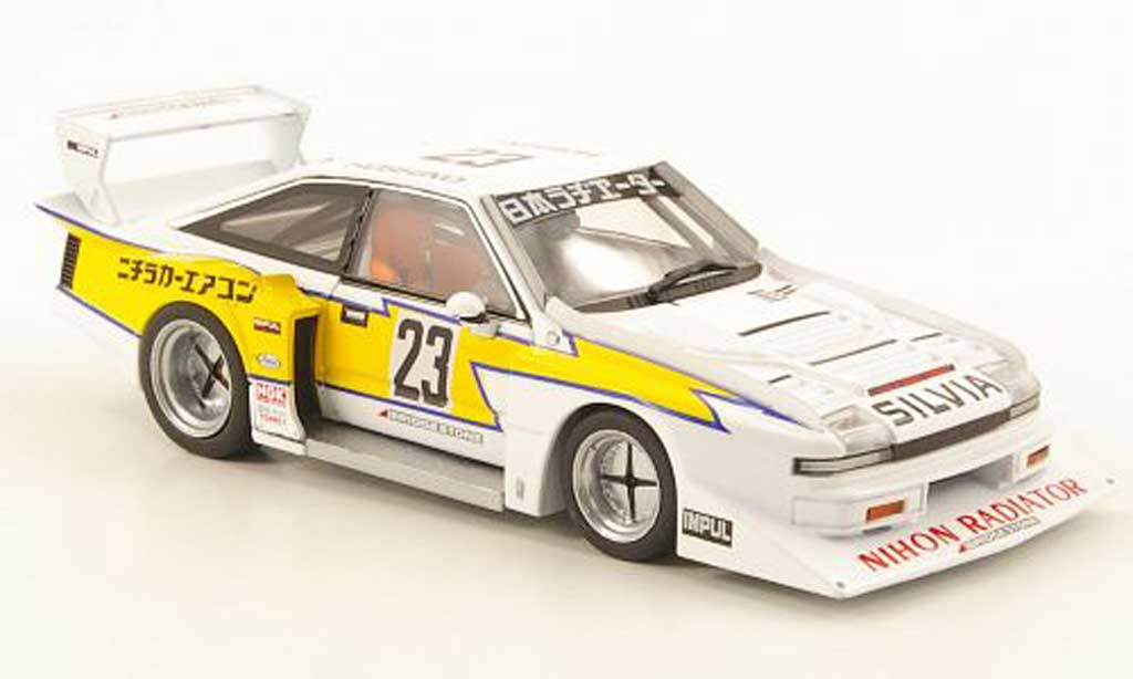 Nissan Silvia 1/43 Ebbro Turbo Super Silhouette No.23 1983 miniature