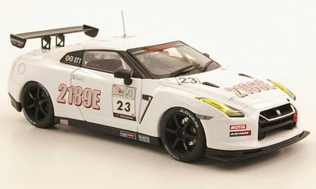 Nissan Skyline 1/43 Ebbro GT-R Nismo No.23 Super Taikyu Fuji 2010 miniature