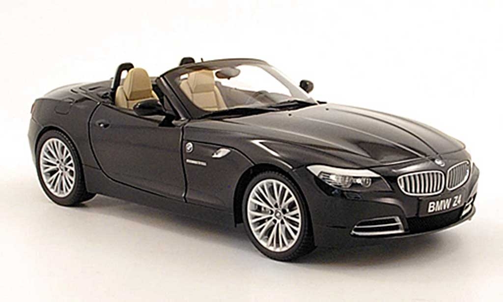 Bmw Z4 E89 Roadster Black E89 Kyosho Diecast Model Car 1