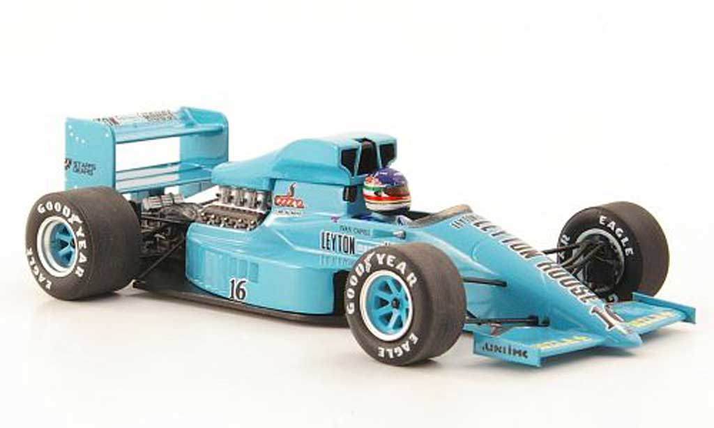 Leyton House 1987 1/43 Spark March 871 No.16 GP Belgien miniature