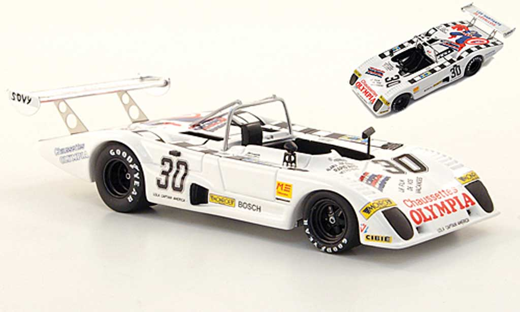 Lola T298 1/43 Bizarre No.30 Captain America 24h Le Mans 1980 miniature