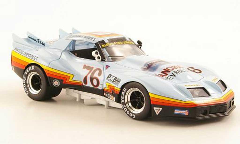 Chevrolet Corvette Mancuso No.76 Watkins Glen IMSA 1977 Bizarre. Chevrolet Corvette Mancuso No.76 Watkins Glen IMSA 1977 Imsa miniature 1/43