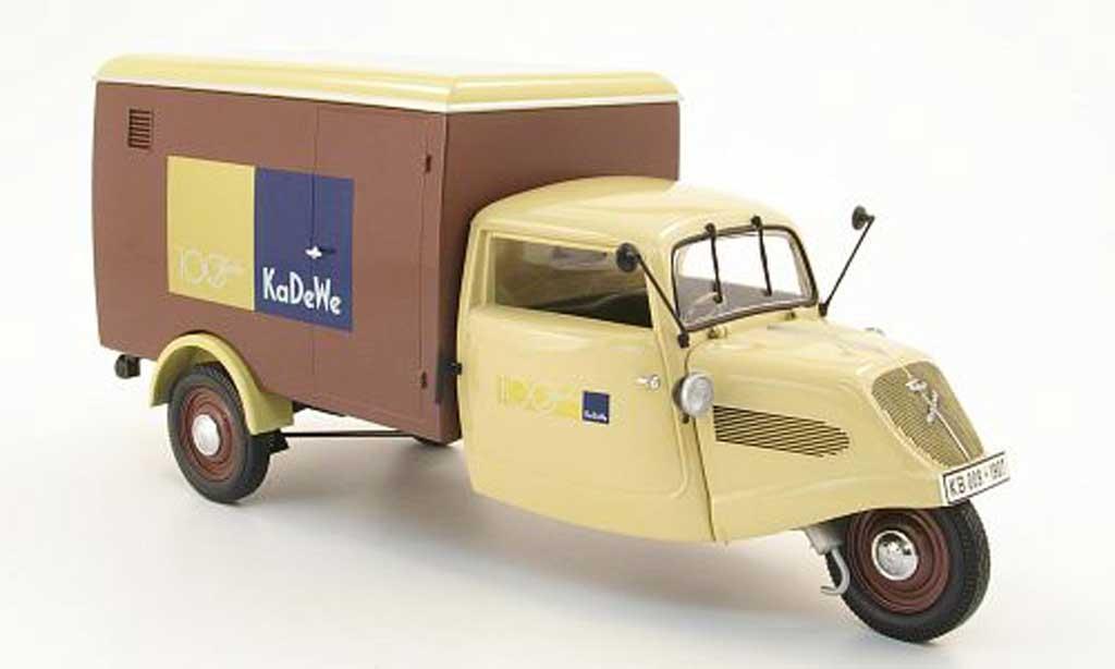 Tempo Hanseat 1/18 Minichamps kasten 100 ans kadewe 1952 miniature