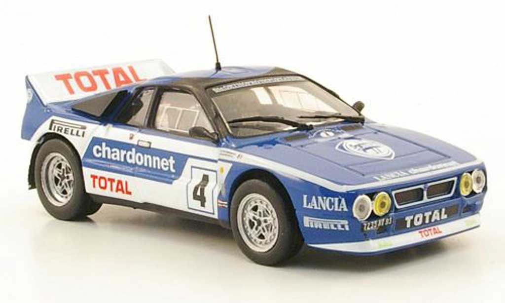 Lancia 037 1/43 Hachette Rally No.4 Total Rally du Var 1984 diecast