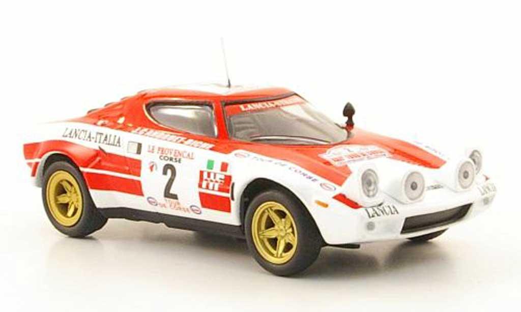 Lancia Stratos Rallye 1/43 Hachette No.2 -Italia Tour de Corse 1974 miniature