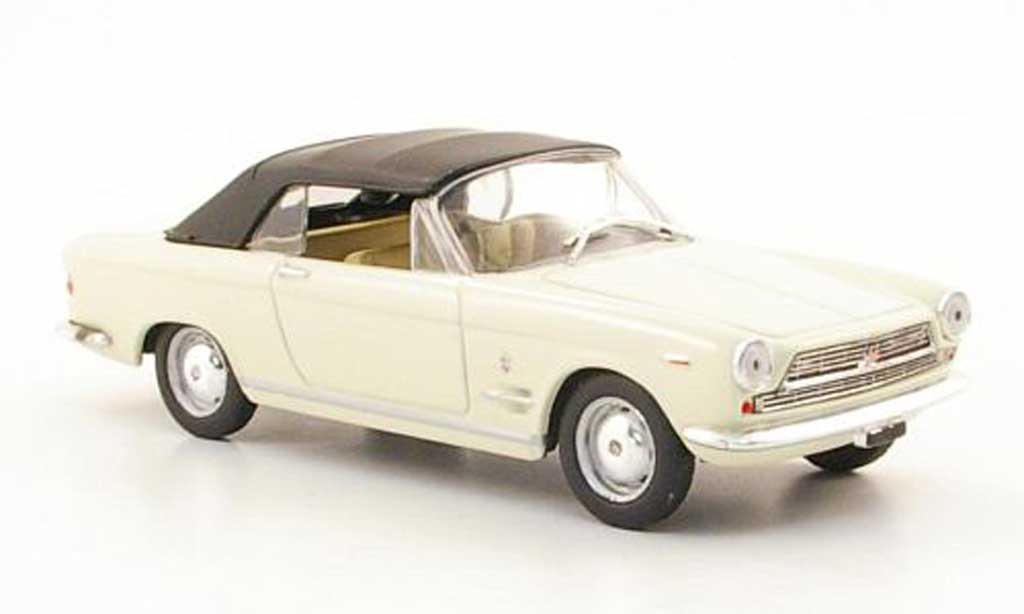 Fiat 2300 1/43 Starline S Cabriolet blanche 1962 miniature