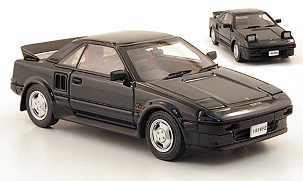 Toyota MR 1/43 Ebbro 2 (AW11) verte 1984 miniature