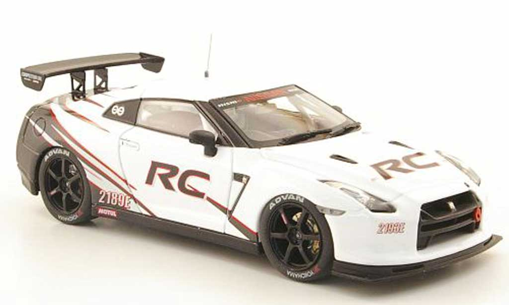 nissan skyline miniature gt r rc blanche noire ebbro 1 43. Black Bedroom Furniture Sets. Home Design Ideas
