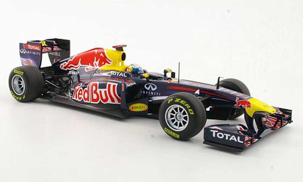 Renault F1 1/18 Minichamps rouge Bull RB7 No.1 S.Vettel -Saison 2011 miniature