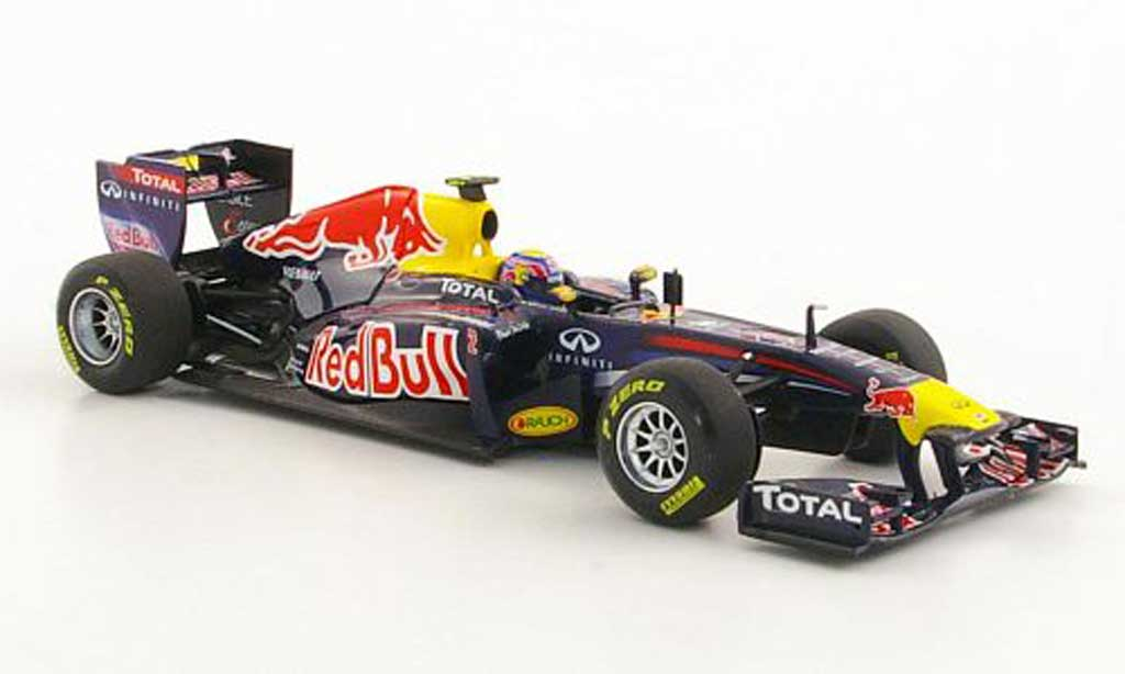 Renault F1 2011 1/43 Minichamps Red Bull RB7 No.2 M.Webber Saison miniature