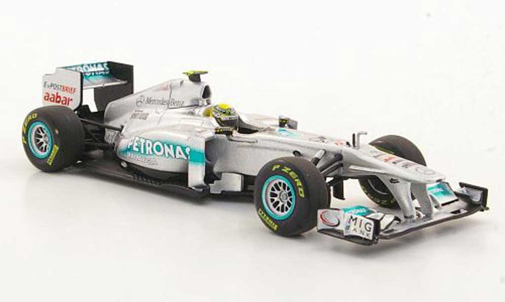 Mercedes F1 2011 1/43 Minichamps GP MGP W02 No.8 N.Rosberg Petronas -Saison miniature