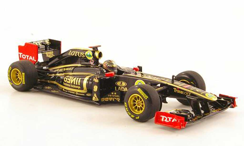 Lotus F1 2011 1/43 Minichamps Renault GP R31 No.9 N.Heidfeld Saison diecast model cars