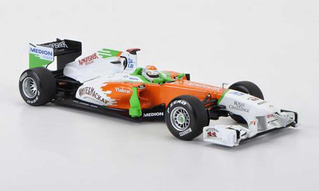 Mercedes F1 2011 1/43 Minichamps Force India VJM04 No.14 Whyte & Mackay A.Sutil Saison miniature