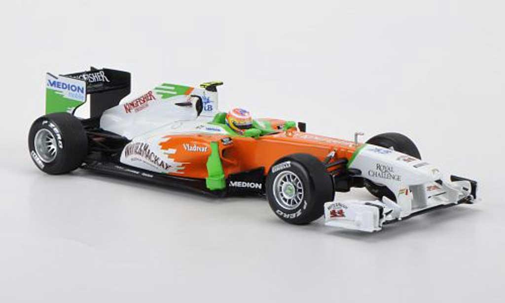 Mercedes F1 2011 1/43 Minichamps Force India VJM04Whyte & Mackay P.Di Resta Saison miniature