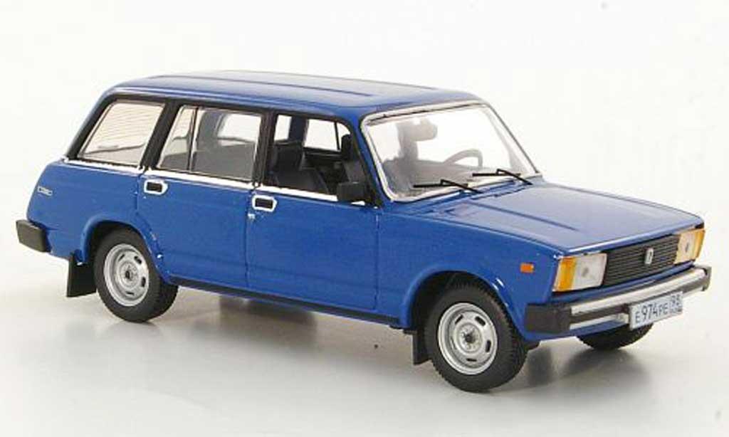 Lada Vaz 1/43 IST Models 2104 bleu 1989 miniature