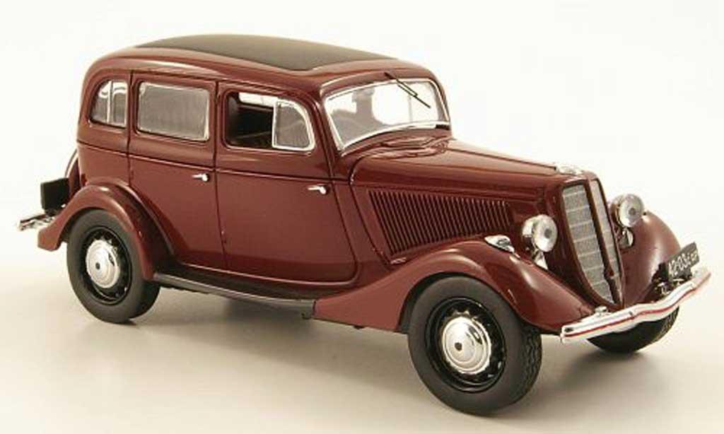 Gaz M1 1/43 IST Models rouge 1942 miniature