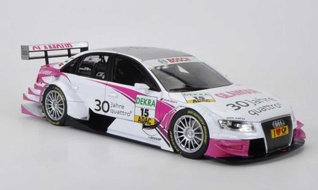 Audi A4 DTM 1/18 Norev No.15 Sport Team Rosberg K.Legge Saison 2010 miniature