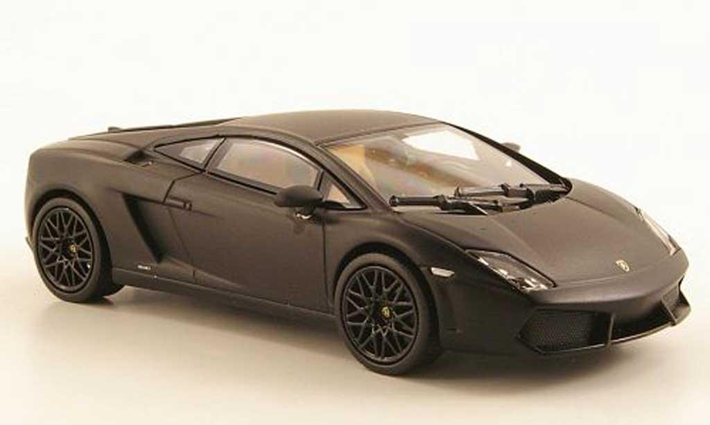 Lamborghini Gallardo LP560-4 LP560-4 1/43 Norev mattnoire 2009 miniature