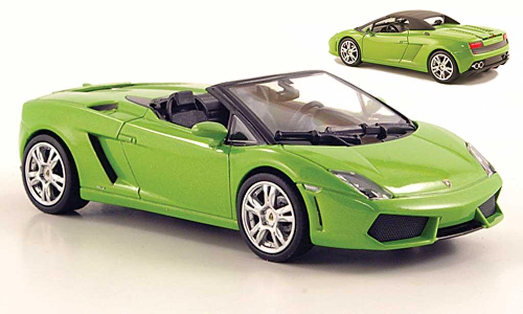 Lamborghini Gallardo LP560-4 LP560-4 1/43 Norev Spyder grun 2009 miniature