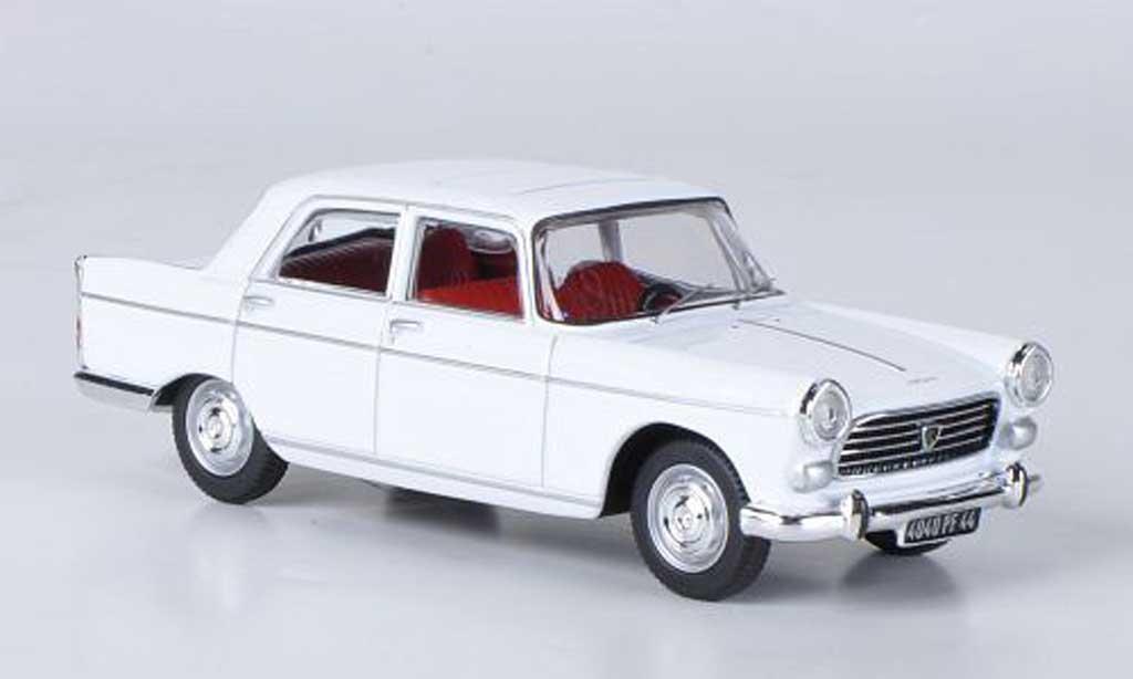 Peugeot 404 Berline 1/43 Norev blanche 1965 miniature