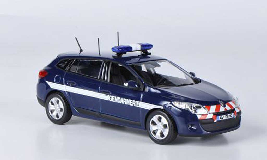 renault megane estate miniature gendarmerie 2010 norev 1 43 voiture. Black Bedroom Furniture Sets. Home Design Ideas