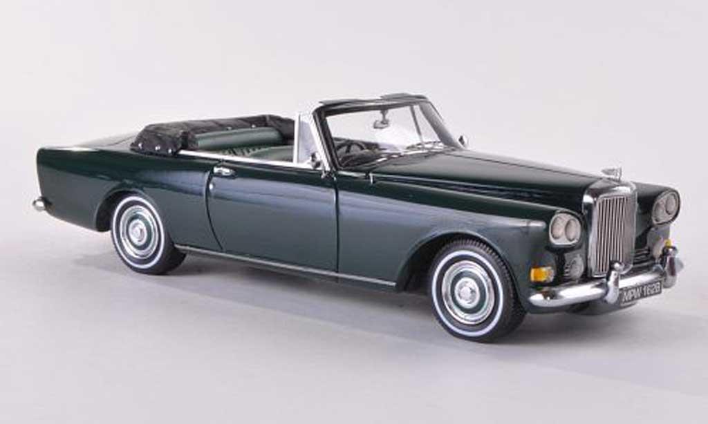 Bentley Continental SIII 1/43 Neo Mulliner Park Ward DHC grun RHD 1963 miniature