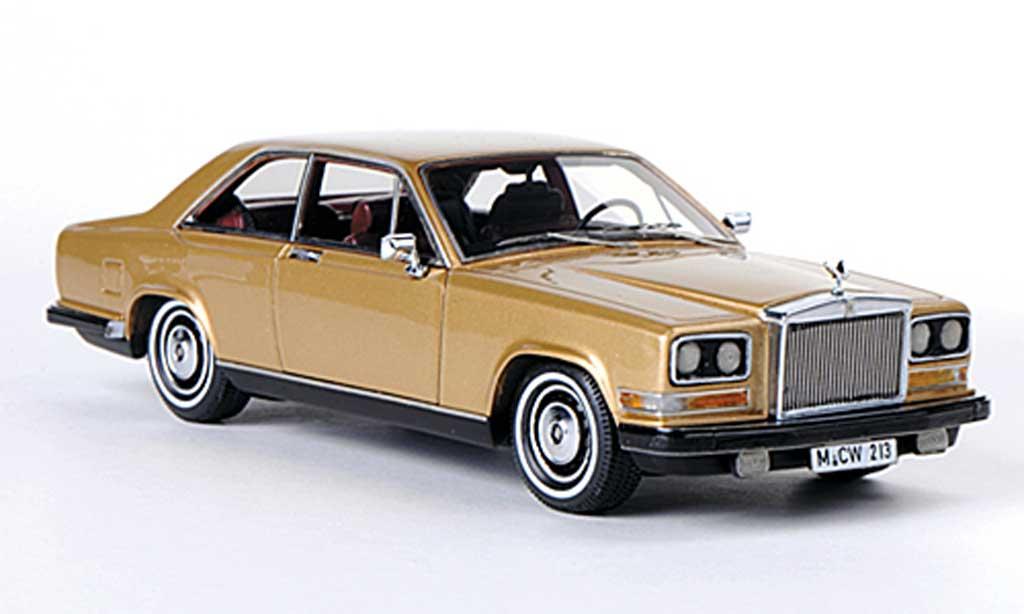 Rolls Royce Camargue 1/43 Neo gold LHD 1975 miniature