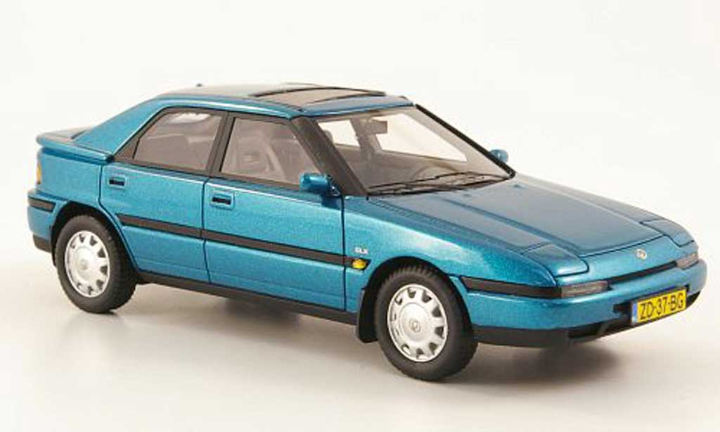 Mazda 323 1/43 Neo F bleu 1992 miniature