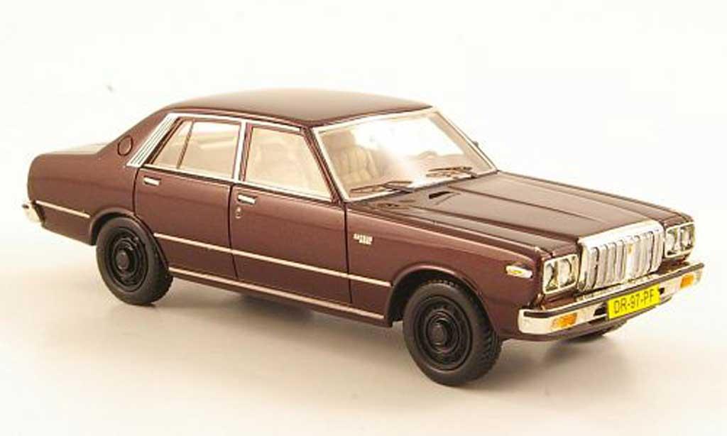 Datsun 200L 1/43 Neo Laurel (C230) marron miniature