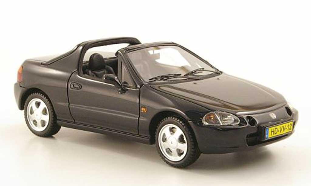 Honda CRX del Sol 1/43 Neo del Sol noire 1992 miniature
