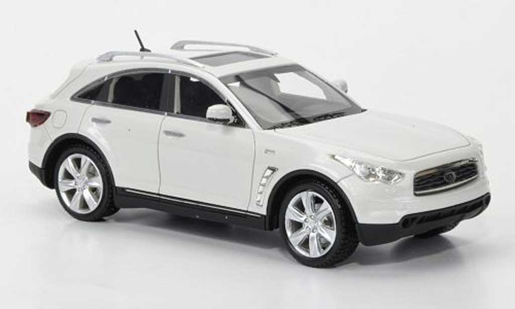 Infiniti FX50 1/43 Neo S blanche 2010 miniature