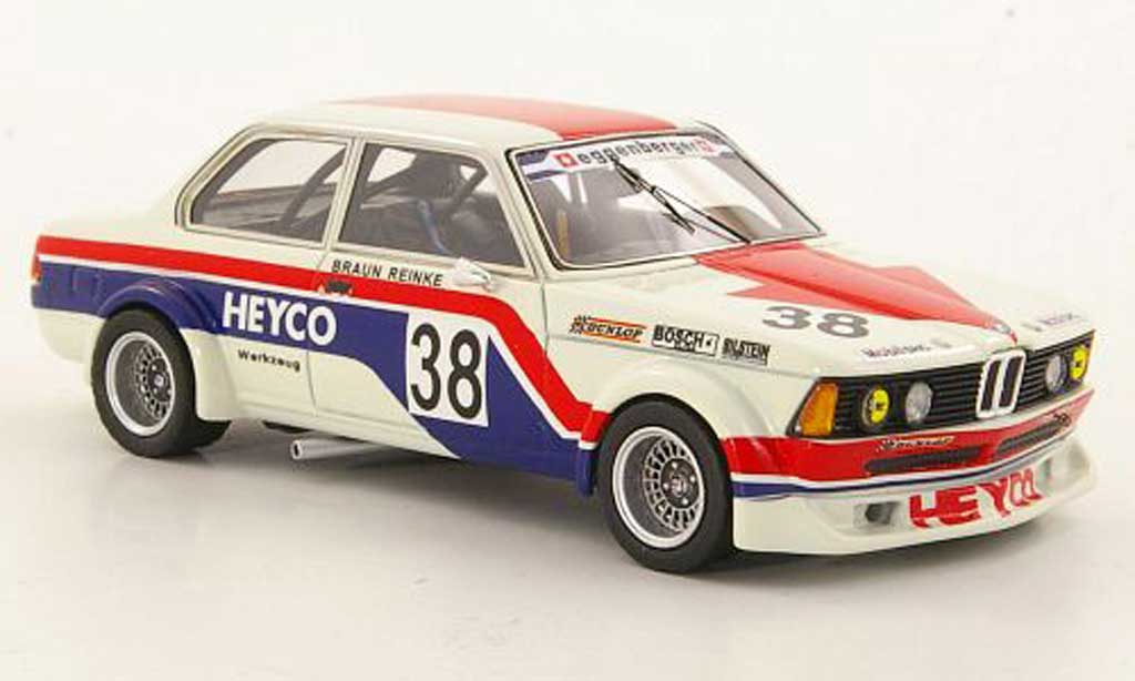 Bmw 320 E21 1/43 Neo i  Gr.2 No.38 Heyco ETCC 1977 diecast model cars