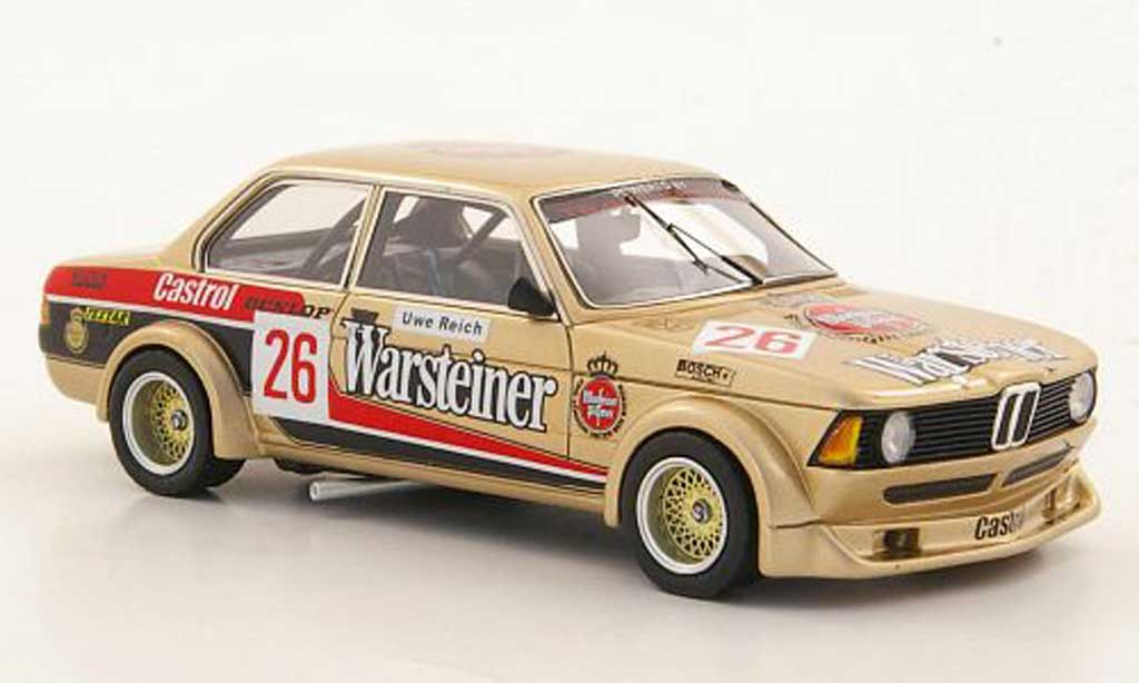 Bmw 320 E21 1/43 Neo i  Gr.2 No.26 Warsteiner U.Reich limited edition DRM 1979 diecast model cars