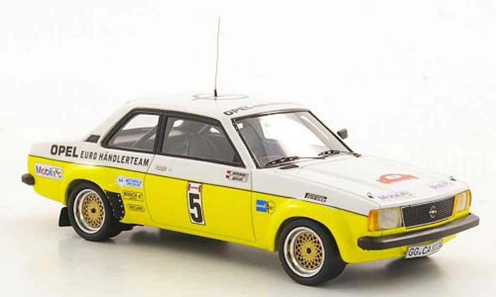 Opel Ascona B 1/43 Neo Gr.2 No.5 J.Kleint / G.Wanger Hunsuck Rally 1979 miniature