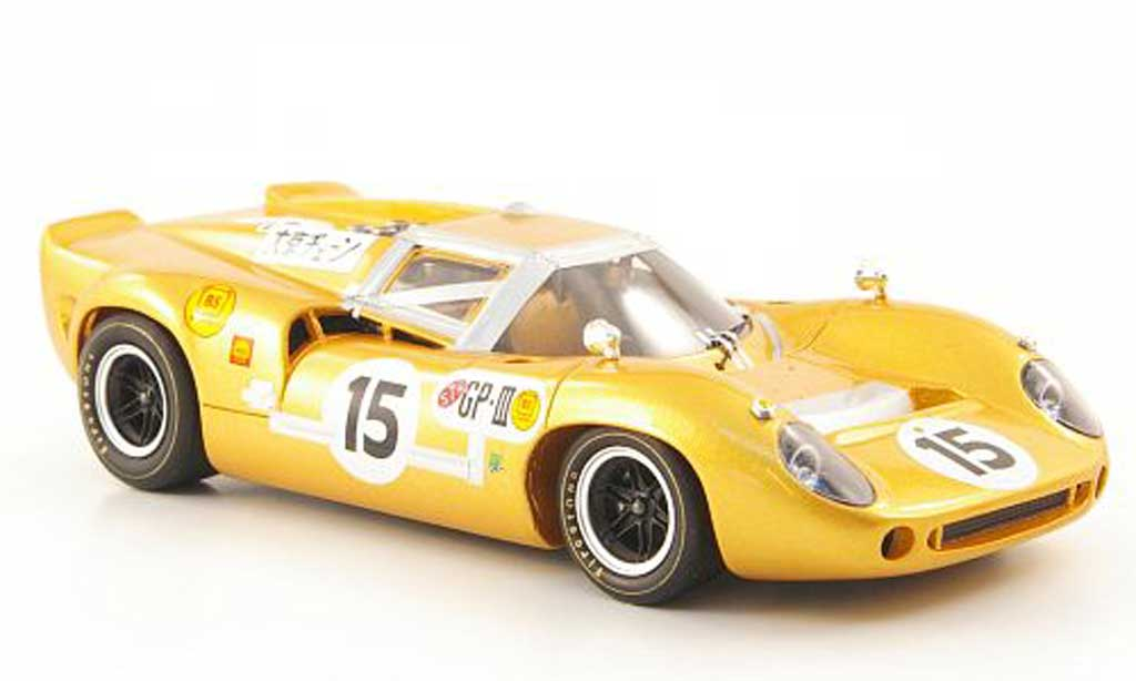 Lola T70 1966 1/43 Ebbro MK2 No.15 GP Japan miniature