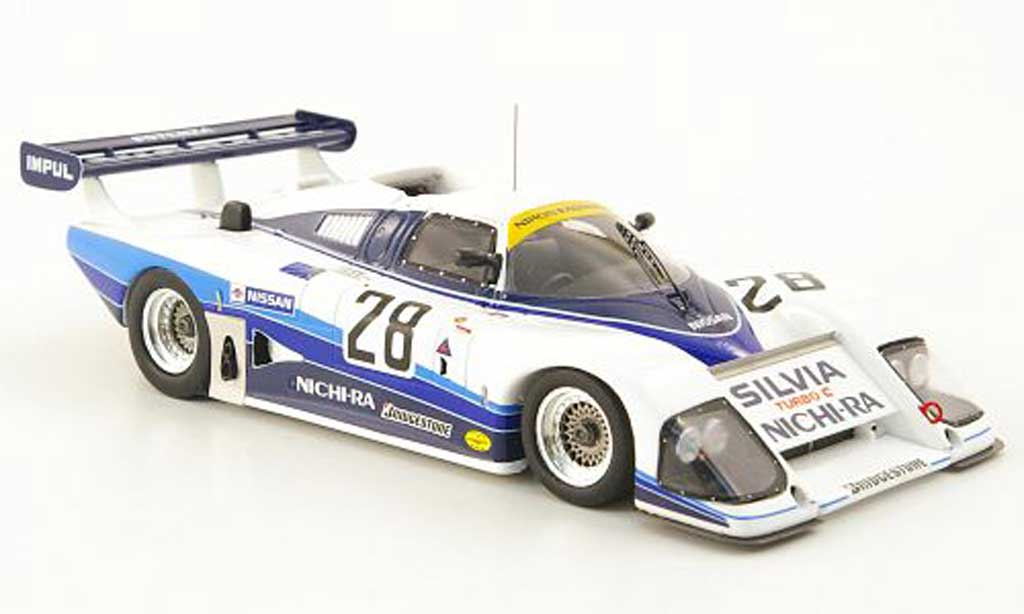 Nissan Silvia 1/43 Ebbro Turbo C No.28  Nichi-Ra WEC Japan 1985 miniature