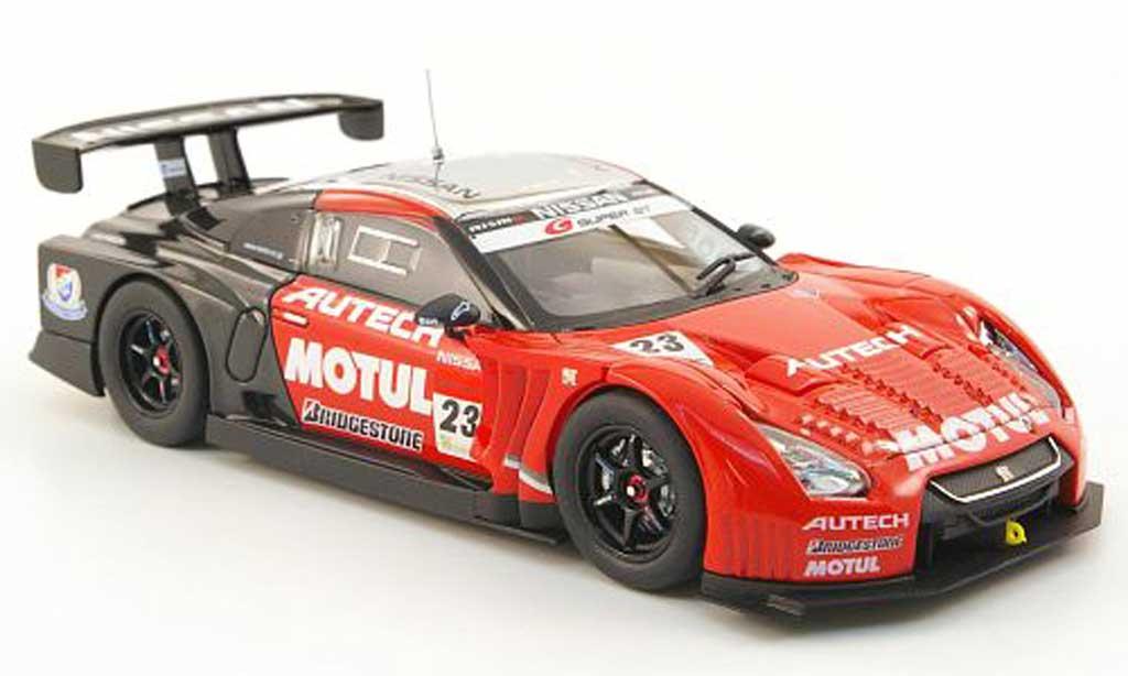 Nissan Skyline R35 1/43 Ebbro GT-R No.23 Motul Autech Test Okayama 2011 miniature